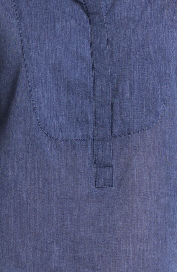 Alternate Image 3  - Caslon® Roll Sleeve Shirt