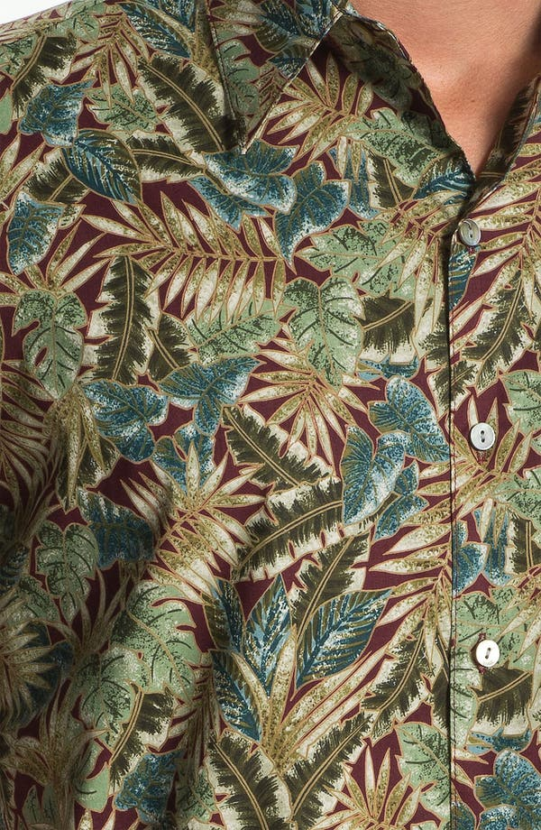 Alternate Image 3  - Tori Richard 'Leafthology' Sport Shirt