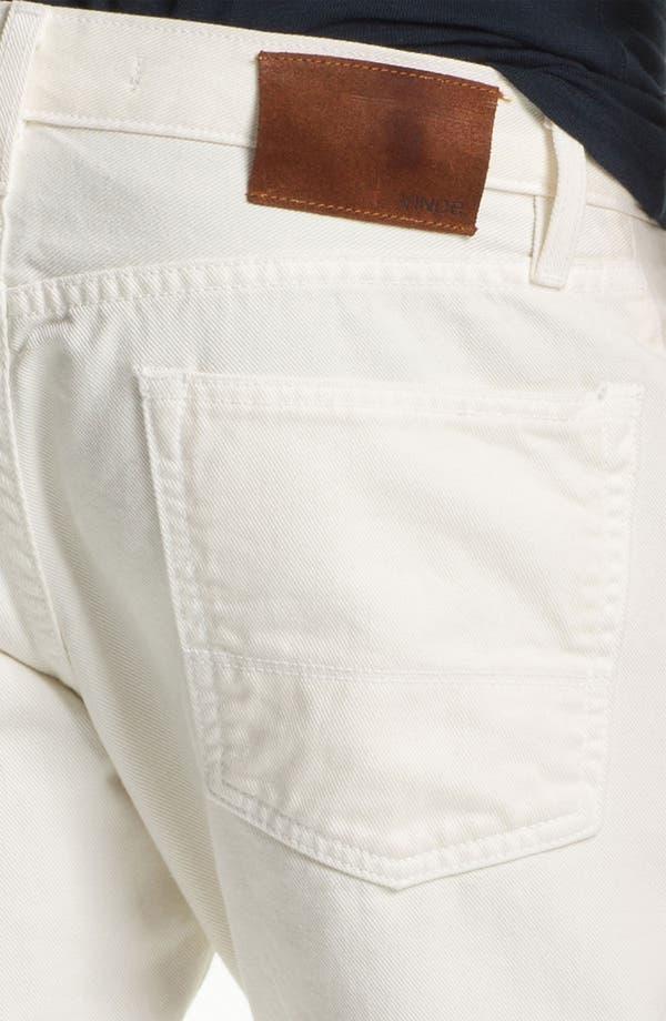 Alternate Image 3  - Vince Straight Leg Five Pocket Pants