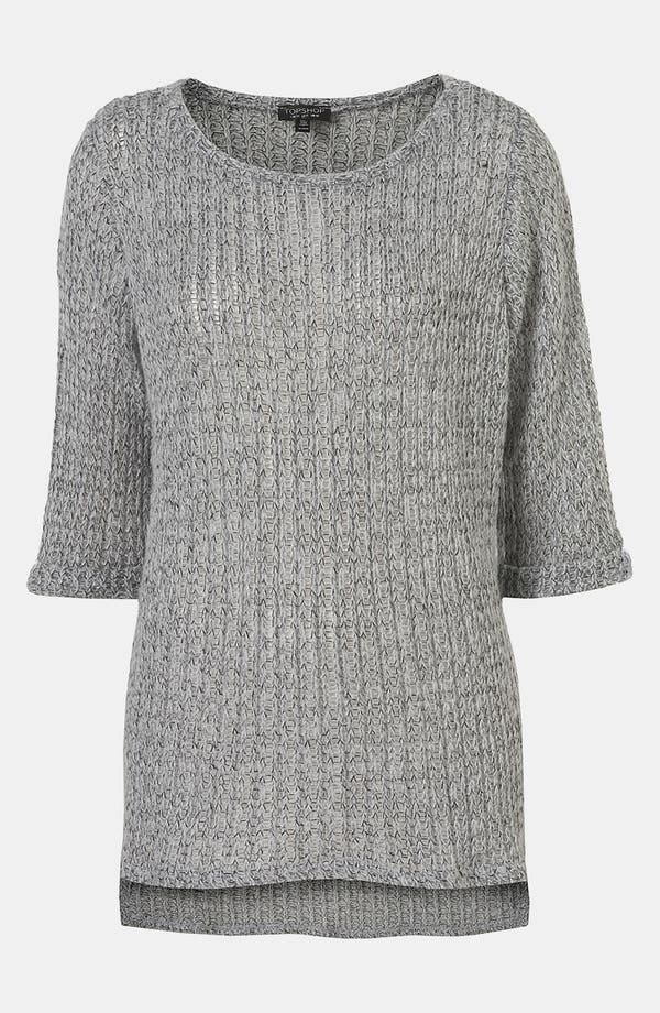 Main Image - Topshop 'Fisherman Text' Sweater