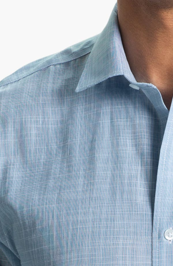 Alternate Image 3  - Cutter & Buck 'Blue Ridge Solid' Regular Fit Sport Shirt (Online Only)
