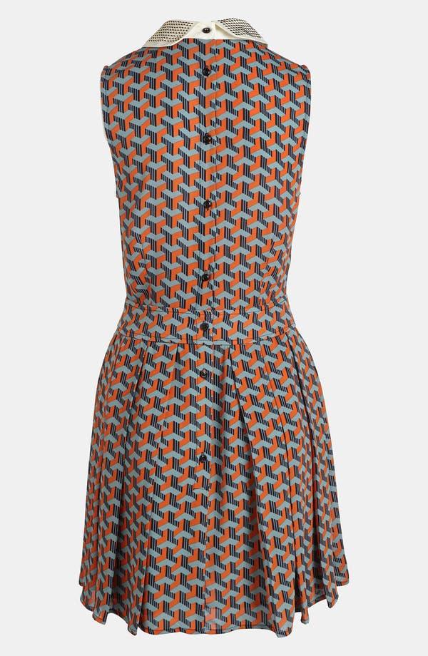 Alternate Image 2  - I.Madeline Stud Collar Dress