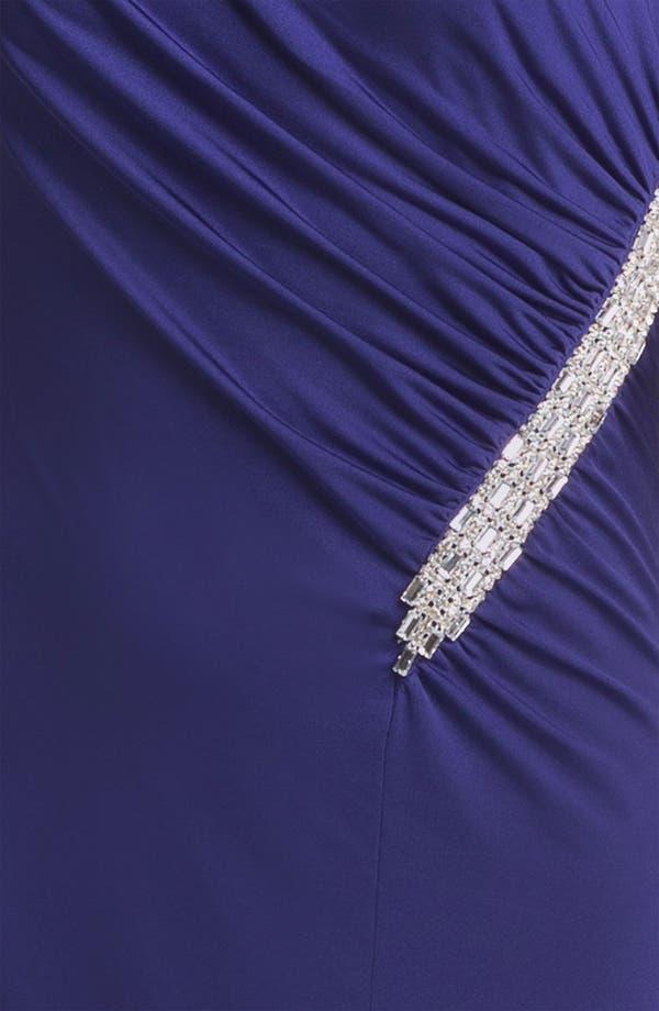 Alternate Image 3  - Calvin Klein Embellished One Shoulder Gown