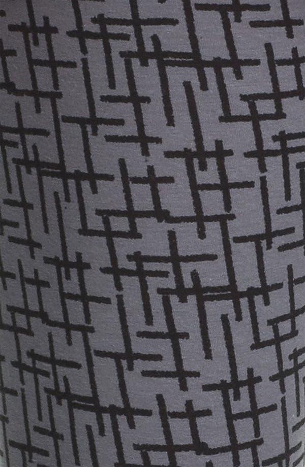 Alternate Image 3  - Mimi Chica Cross Print Leggings (Juniors)