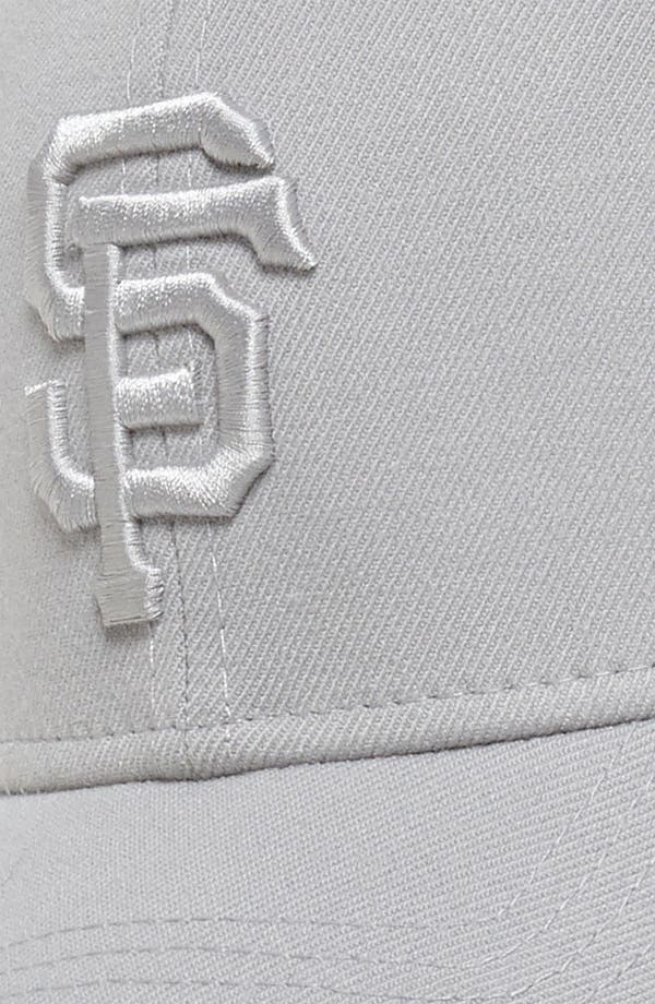 Alternate Image 3  - New Era Cap 'San Francisco Giants - Tonal Classic' Fitted Baseball Cap