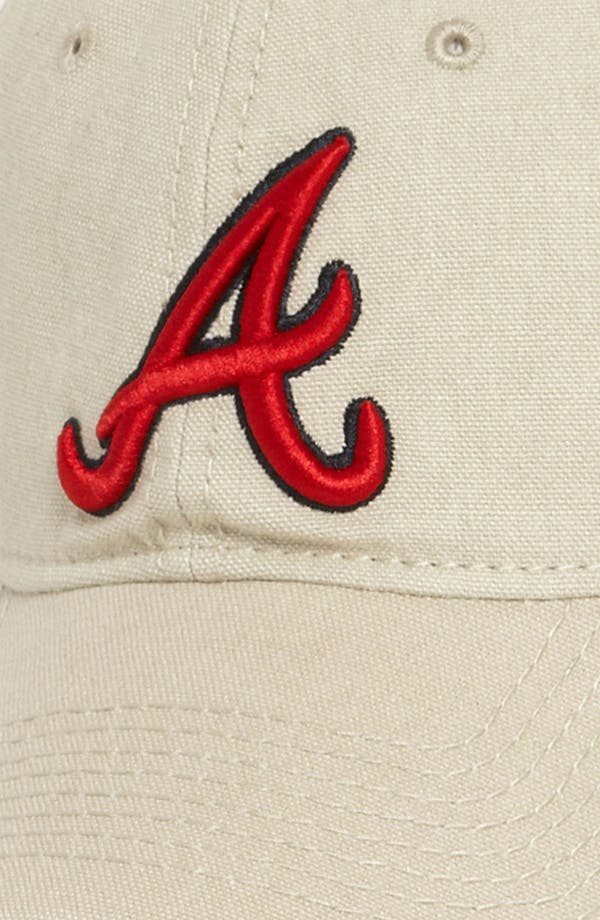 Alternate Image 2  - New Era Cap 'Shoreline - Atlanta Braves' Baseball Cap