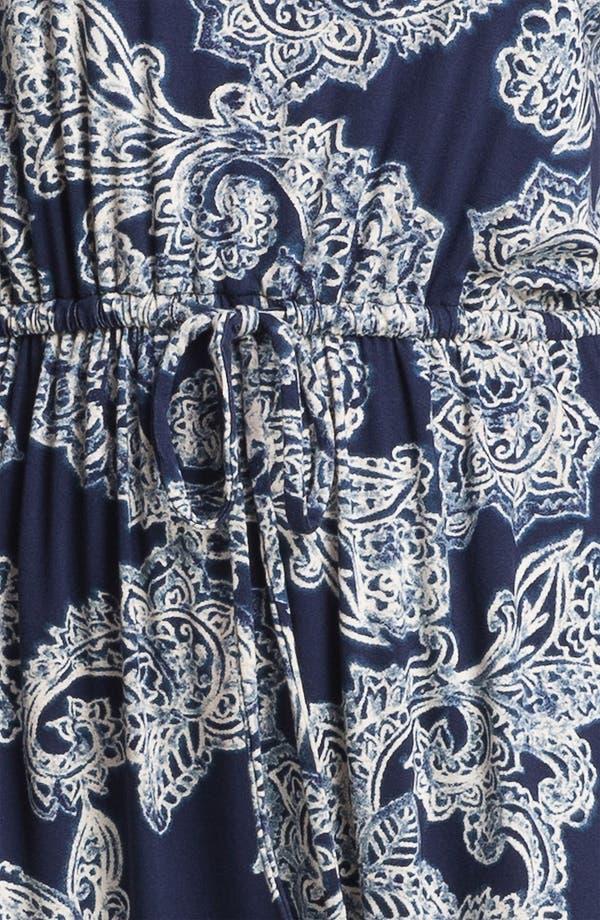 Alternate Image 3  - Lucky Brand Paisley Dress (Plus Size)