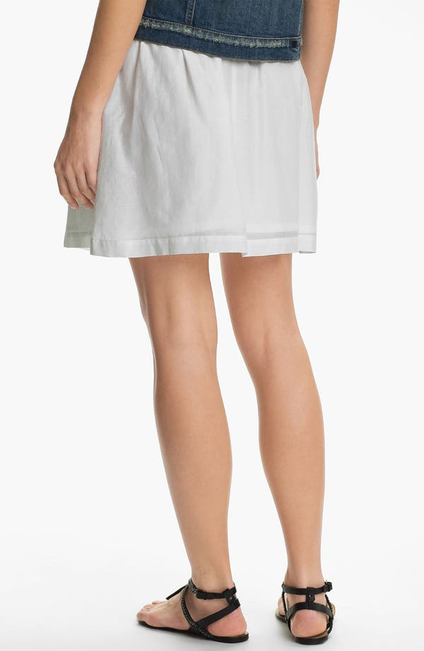 Alternate Image 2  - Caslon Gathered Skirt