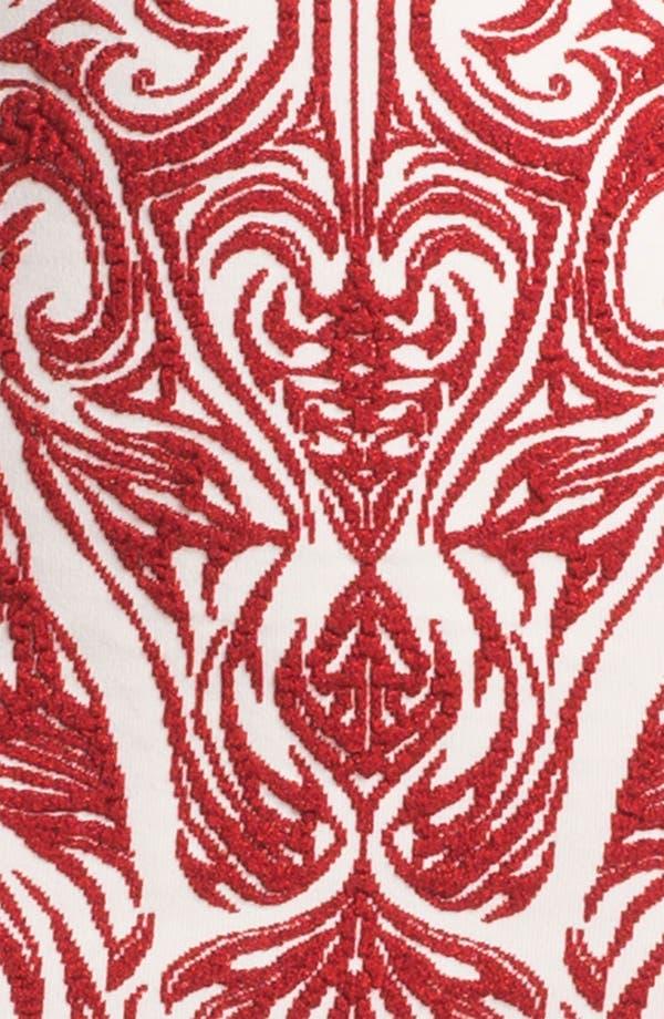 Alternate Image 2  - RVN 'Phoenix' Embroidered Jacquard Minidress