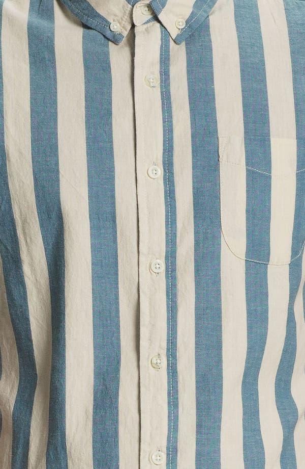 Alternate Image 3  - Obey 'Dreamer' Stripe Woven Shirt