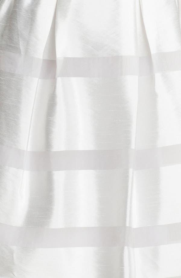 Alternate Image 3  - Taylor Dresses Tonal Stripe Fit & Flare Dress