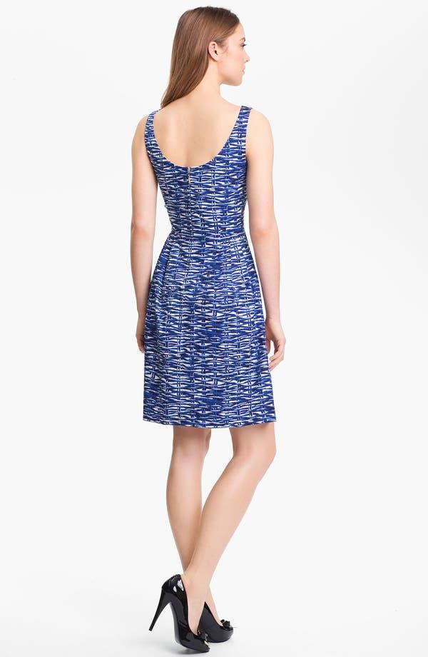 Alternate Image 2  - kate spade new york 'sonja' stretch cotton fit & flare dress