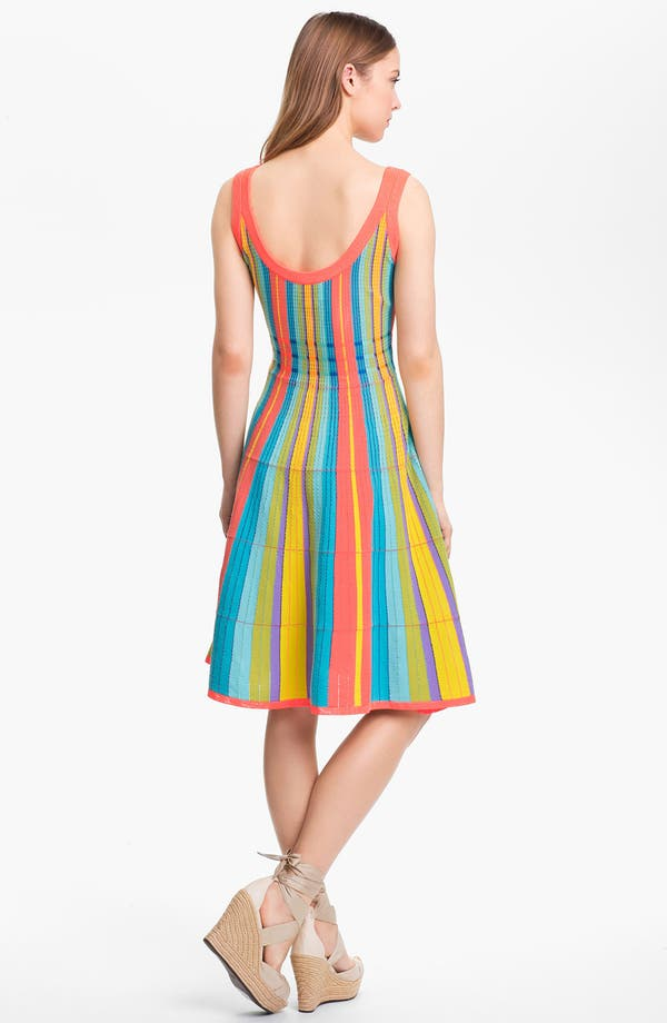 Alternate Image 2  - kate spade new york 'ariele' cotton blend a-line dress