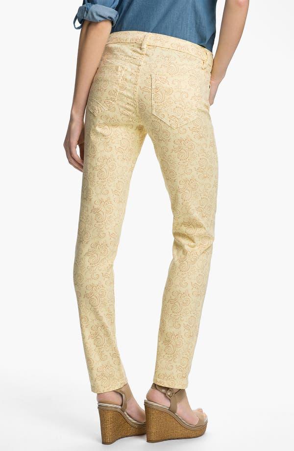 Alternate Image 2  - Christopher Blue 'Isabel' Print Skinny Ankle Jeans