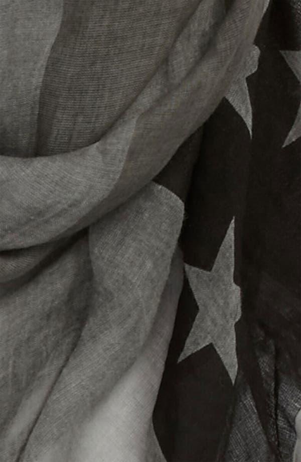 Alternate Image 2  - John Varvatos Collection Flag Print Scarf