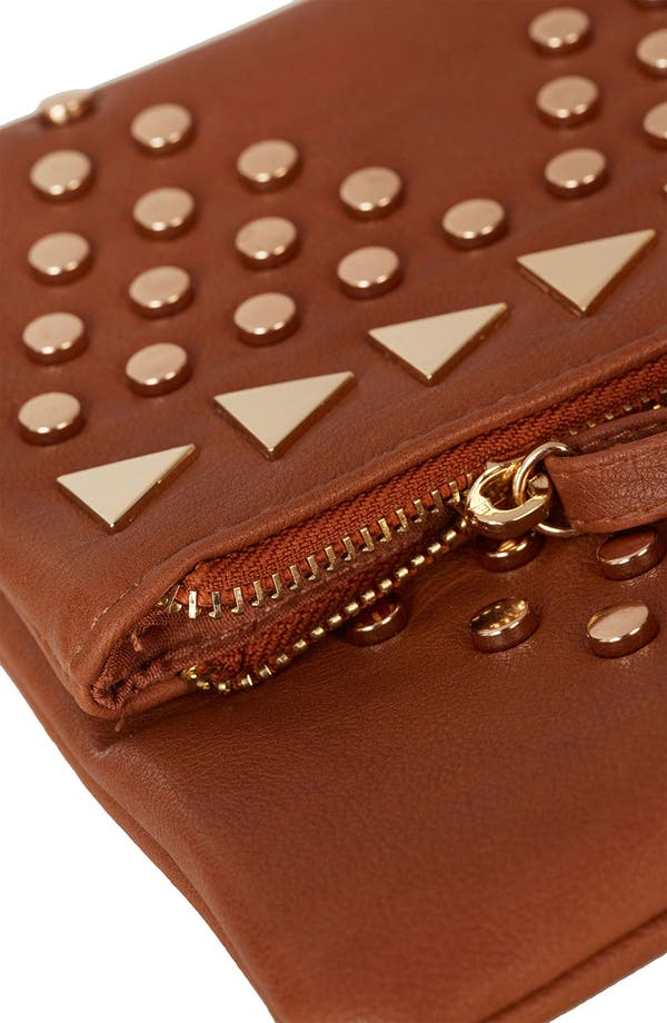 Alternate Image 4  - Topshop Studded Crossbody Clutch