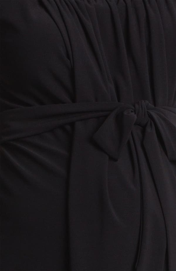 Alternate Image 3  - Japanese Weekend Polka Dot Maternity Dress