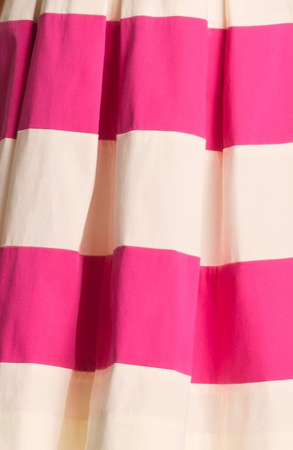 Alternate Image 3  - kate spade new york 'celina' stretch cotton fit & flare dress