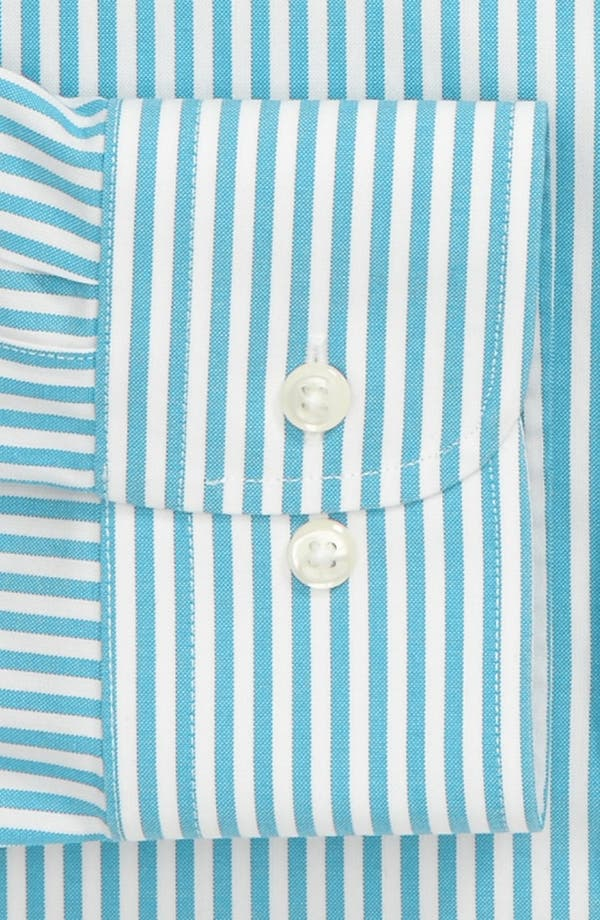 Alternate Image 2  - Nordstrom Men's Shop Smartcare™ Wrinkle Free Trim Fit Stripe Dress Shirt