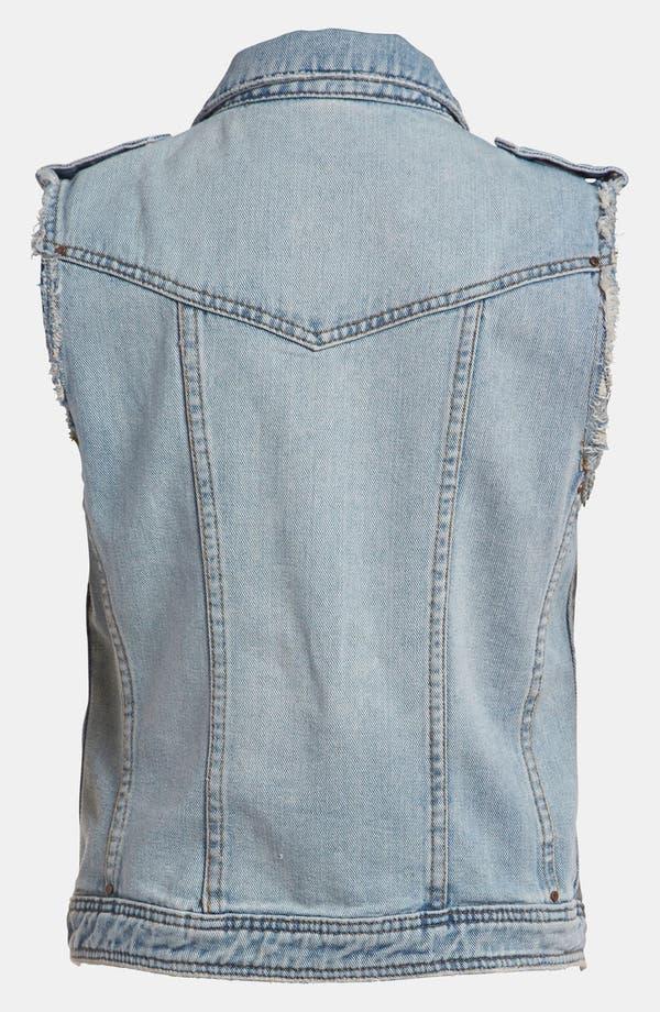 Alternate Image 2  - BLANKNYC Cutoff Denim Vest