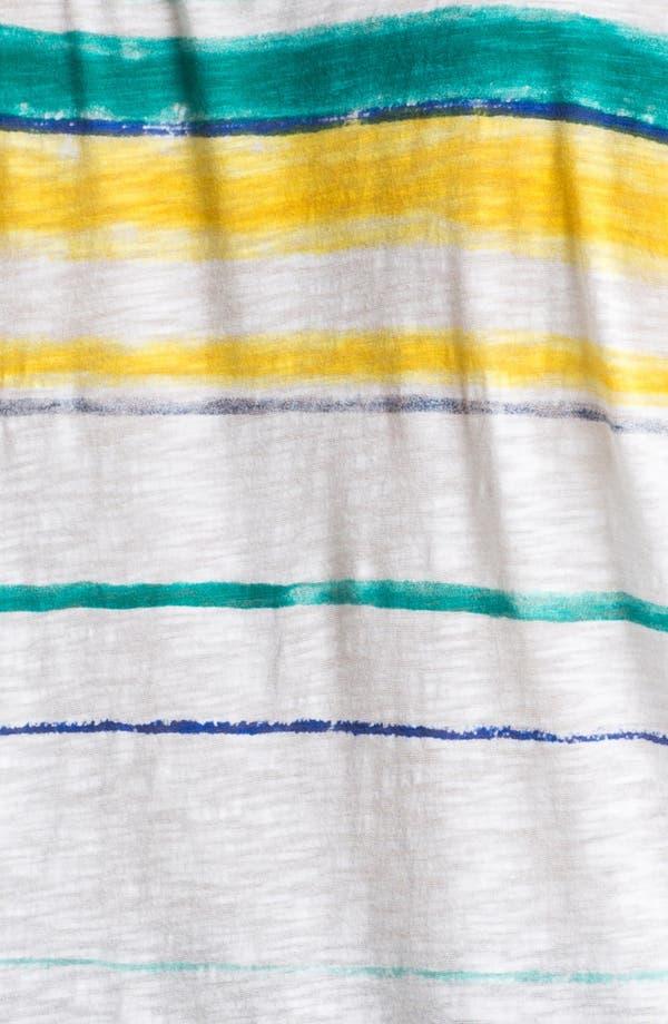 Alternate Image 3  - Lucky Brand 'Charleigh' Stripe Tee (Plus Size)