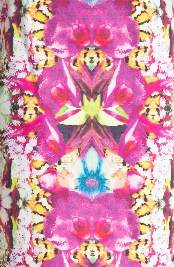 Alternate Image 3  - Rachel Roy Stretch Cotton Sheath Dress