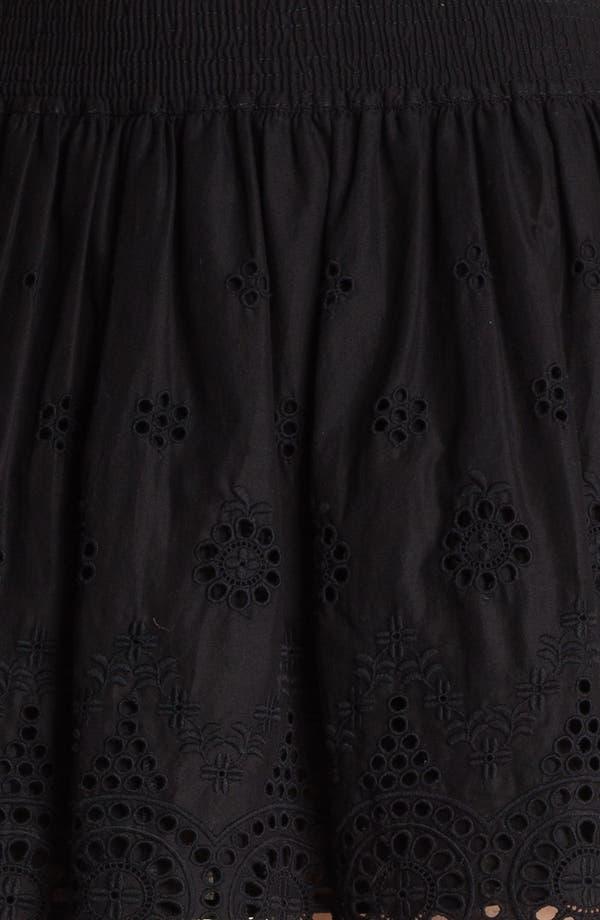 Alternate Image 3  - Hinge® Eyelet Embroidered Skirt