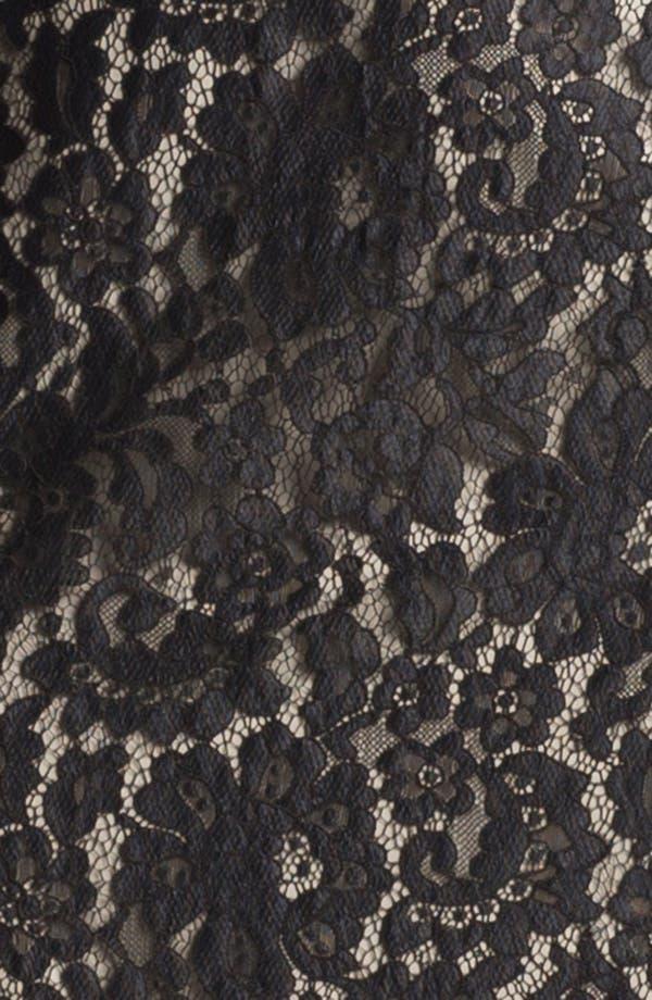 Alternate Image 3  - Calvin Klein Belted Lace Sheath Dress (Regular & Petite)