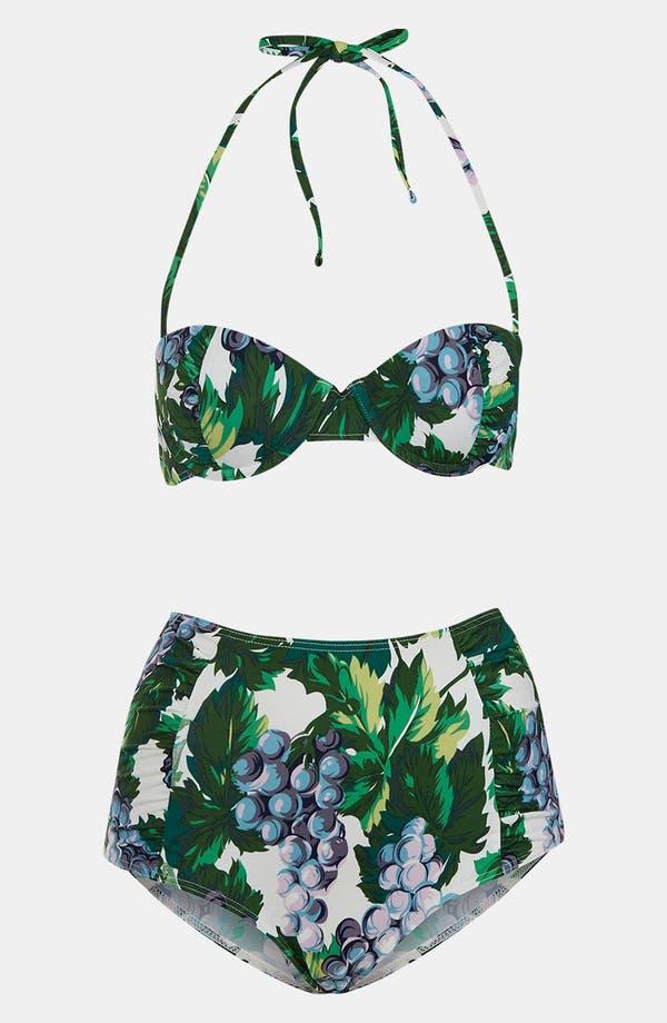 Alternate Image 1 Selected - Topshop Ruched Retro Bikini