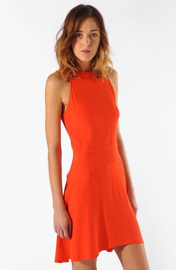 Main Image - maje 'Alissa' Stretch A-Line Dress