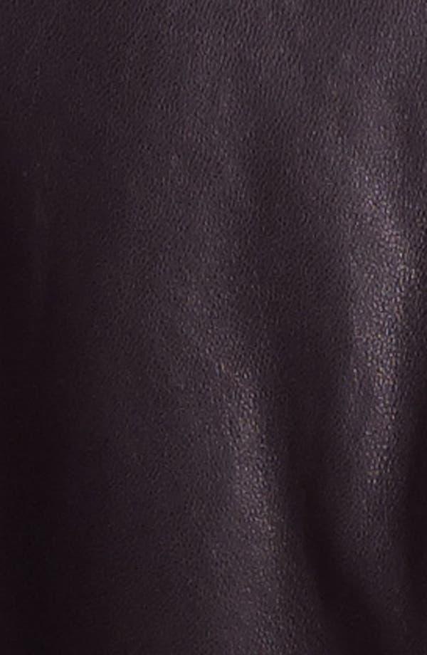Alternate Image 3  - Bernardo Asymmetrical Leather Moto Jacket