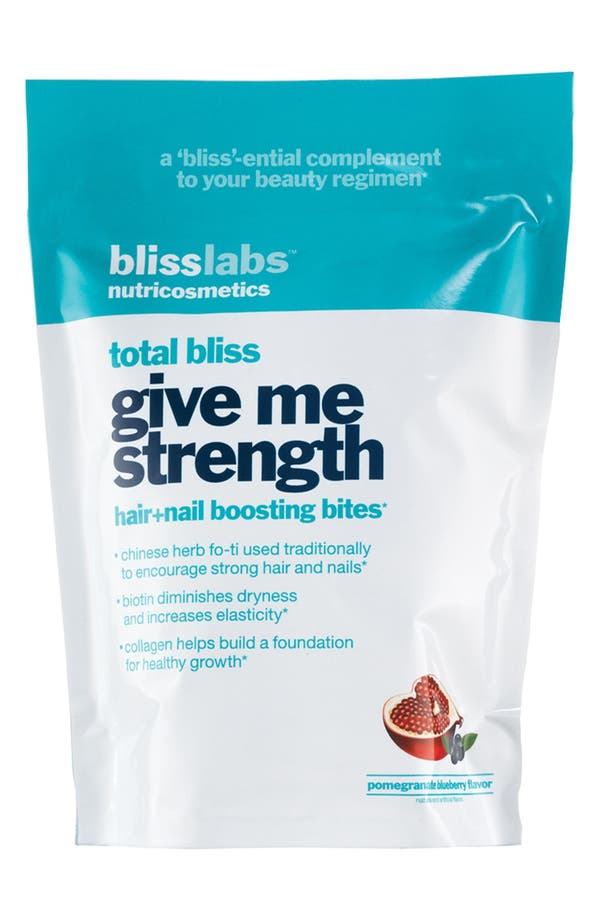 Alternate Image 1 Selected - bliss® 'Total Bliss - Give Me Strength' Hair & Nail Boosting Bites