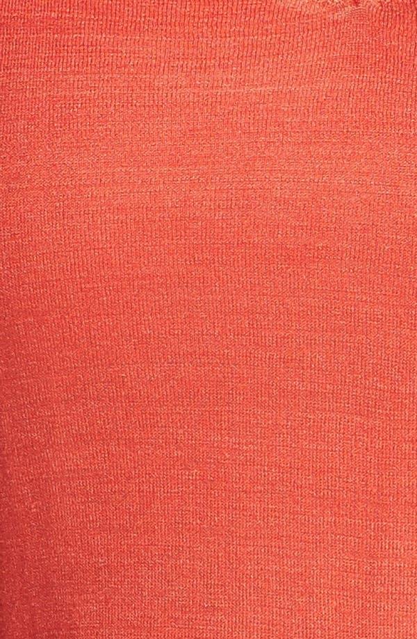 Alternate Image 3  - Eileen Fisher Short Sleeve Top (Plus Size)