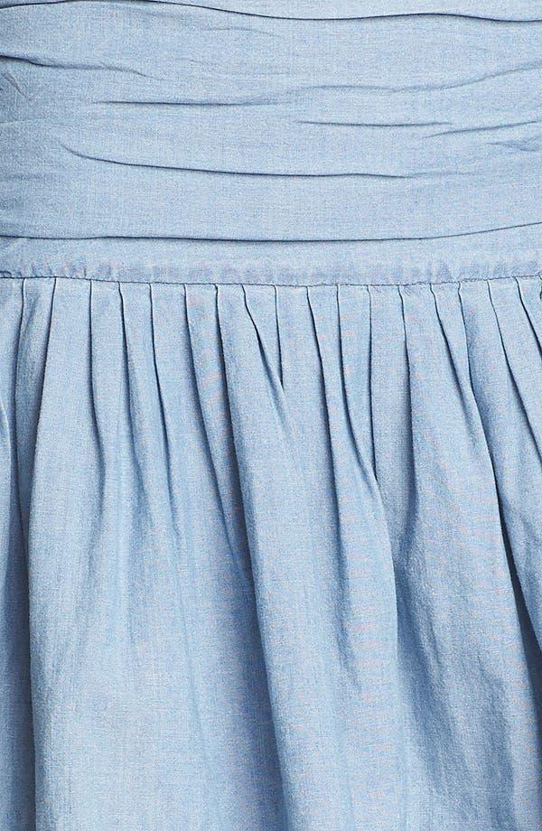 Alternate Image 3  - Paige Denim 'Danni' Ruched Chambray Skirt