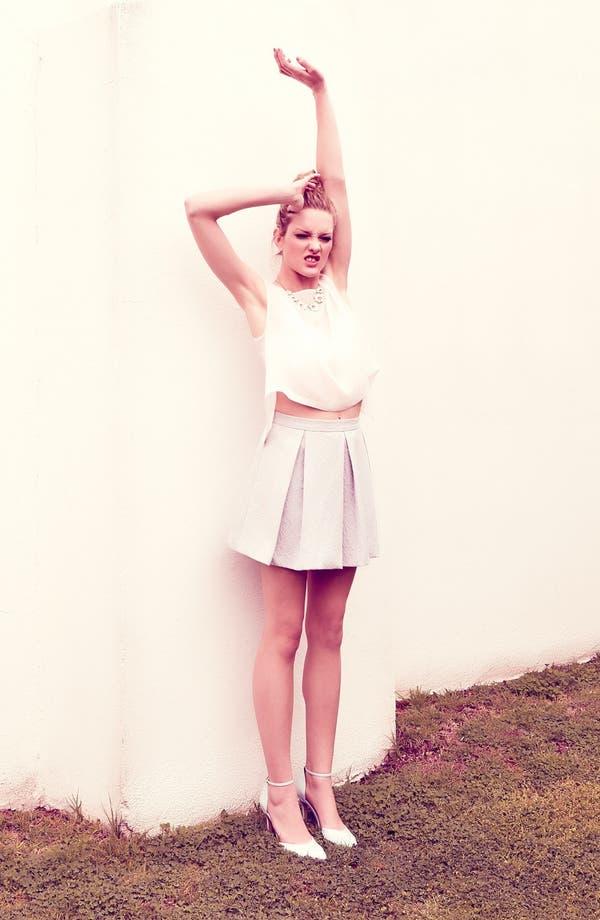 Alternate Image 2  - Tildon Full Box Pleat Skirt