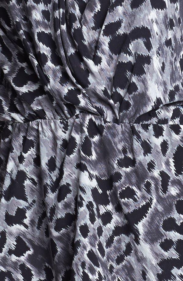 Alternate Image 3  - Anne Klein Faux Wrap Leopard Print Top