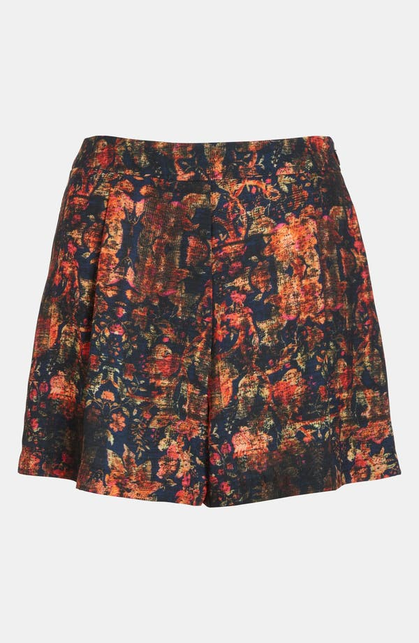 Alternate Image 1 Selected - ASTR High Waisted Print Shorts