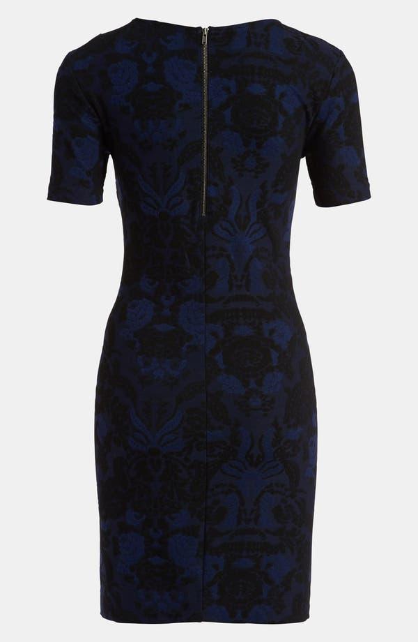Alternate Image 2  - Tildon Body-Con Tapestry Dress