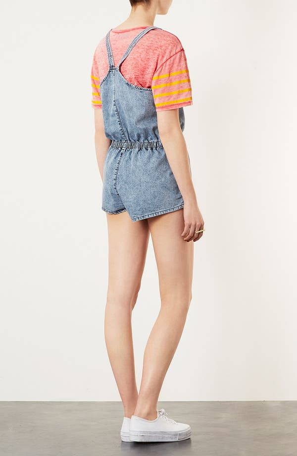 Alternate Image 2  - Topshop Moto 'Miami Acid' Romper