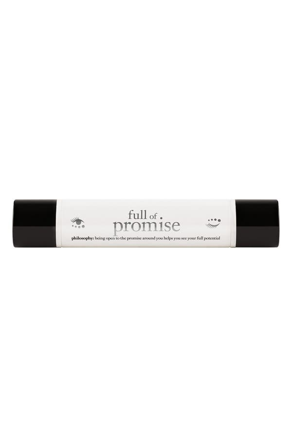 Main Image - philosophy 'full of promise' firming & lifting eye treatment