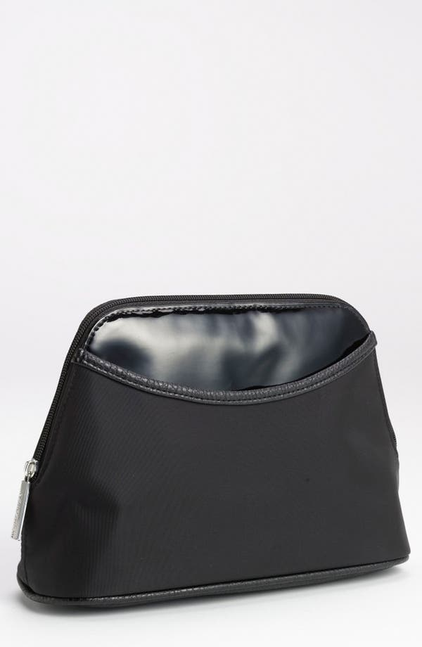 Alternate Image 1 Selected - Nordstrom Faux Leather Trim Cosmetics Bag (Large)