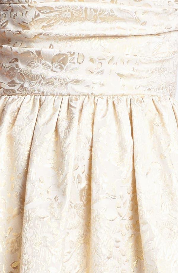 Alternate Image 3  - Wyton Metallic Brocade Fit & Flare Dress