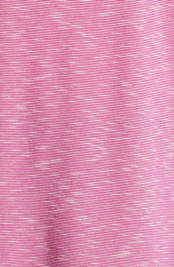 Alternate Image 3  - Sejour Mini Stripe Tee (Plus Size)