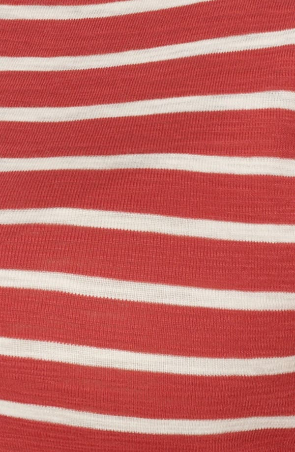Alternate Image 3  - Lauren Ralph Lauren Stripe Crewneck Tee (Plus Size)