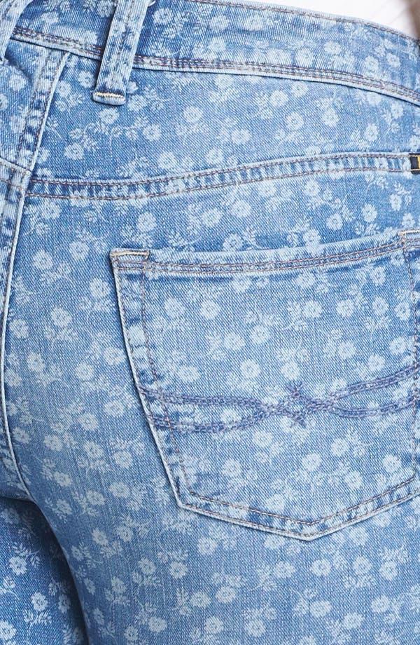 Alternate Image 3  - Lucky Brand 'Ginger' Print Boyfriend Jeans (Plus Size)