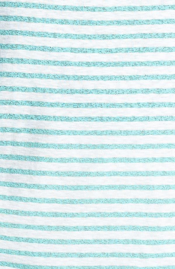Alternate Image 3  - Painted Threads Racerback Stripe Crop Muscle Tank (Juniors)