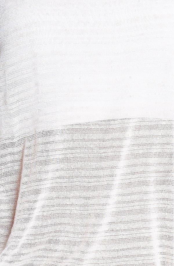 Alternate Image 3  - Painted Threads Crochet Back Pointelle Tank (Juniors)