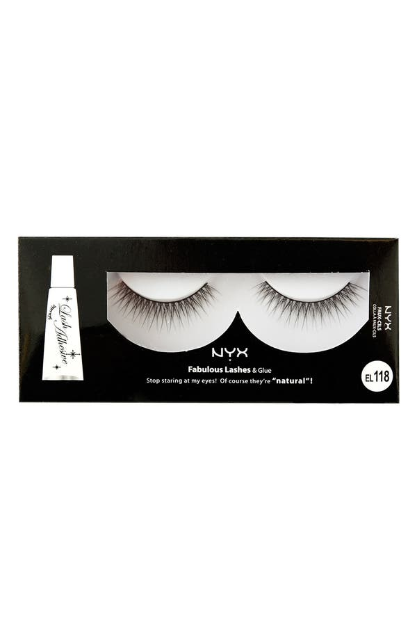 Alternate Image 1 Selected - NYX 'Rumor' Faux Lashes