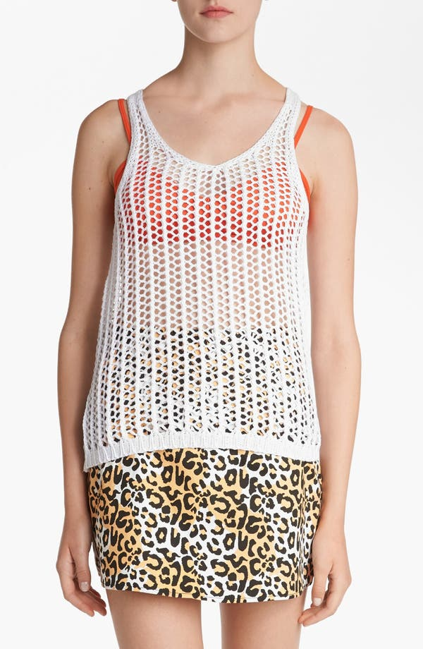 Alternate Image 1 Selected - Lucca Couture Open Crochet Tank