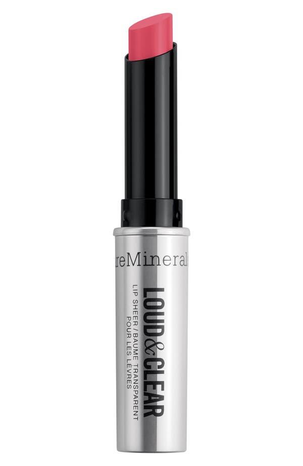 Main Image - bareMinerals® 'Loud & Clear' Lip Sheer